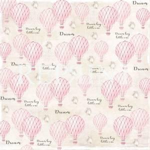 Bilde av Reprint - 12x12 - RP0225 - Dream Big - Pink Air balloons