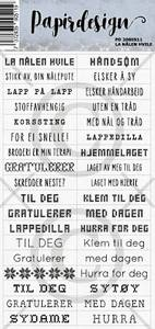 Bilde av Papirdesign - Klistremerker - 2000511 - La nålen hvile