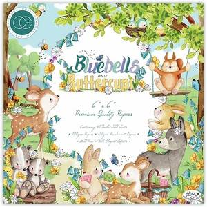 Bilde av Craft Consortium - Bluebells and Buttercups - 6x6 Paper Pad