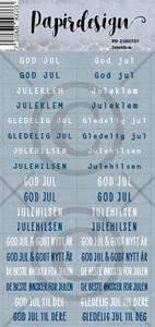 Bilde av Papirdesign - Klistremerker - 2100737 - Juleklem, blå