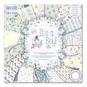 Bilde av First Edition - 077 - 6x6 Paper Pad - It's a Boy