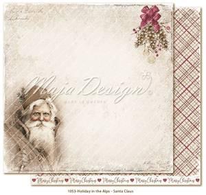 Bilde av Maja Design - 1053 - Holiday in the Alps - Santa Claus