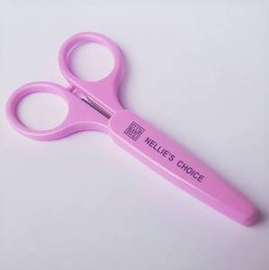 Bilde av Nellie Snellen - 3D scissors with protecting cap - 10 cm - Lilla