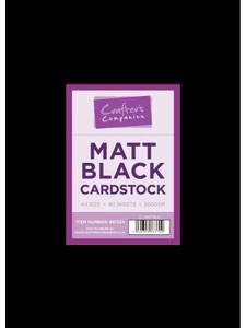 Bilde av Crafter's Companion - A4 - Matt Black Cardstock - 40stk - 300g