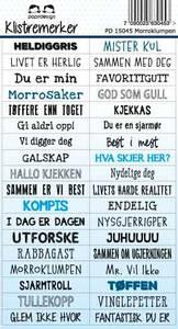 Bilde av Papirdesign - Klistremerker - 15045 - Morroklompen