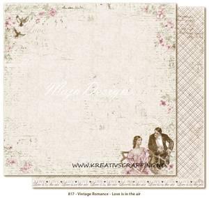 Bilde av Maja Design - 817 - VINTAGE ROMANCE - LOVE IS IN THE AIR