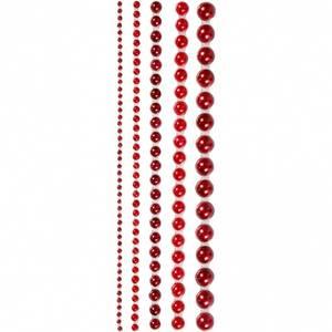 Bilde av Vivi Gade Design - Halvperler, str. 2-8 mm - rød