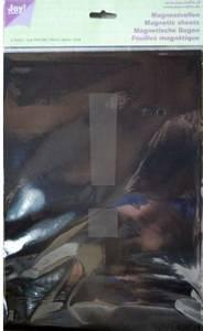 Bilde av Joy Crafts - A4 - Magnetic sheet - 0,4mm thick - 2stk