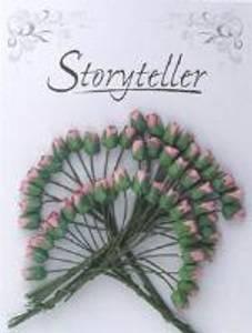 Bilde av Storyteller - Roseknopp - Gammel Rosa - 4mm - 1708