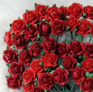 Bilde av Papirdesign - Roser - 1,8cm - Rød