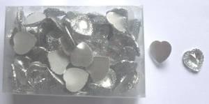 Bilde av Edelweiss - Hjerter i akryl - 15 x 15 mm - 96 stk