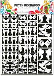 Bilde av Dutch Doobadoo - 472.948.013 - DUTCH PAPER ART - FEATHERS