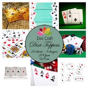 Bilde av Dixi Craft - Dixi toppers - ET0346 - Playing Cards