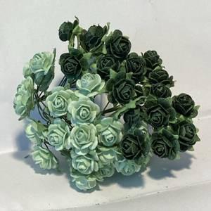 Bilde av Papirdesign - Roser - 1,2cm - Grønn