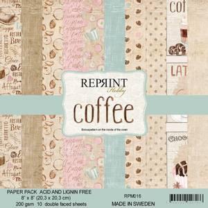 Bilde av Reprint - 8x8 - RPM016 - Coffee Collection pack