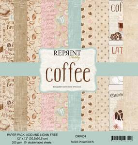Bilde av Reprint - 12x12 - CRP034 - Coffee Collection pack
