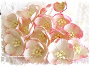 Bilde av Papirdesign - Kirsebærblomst - rosa