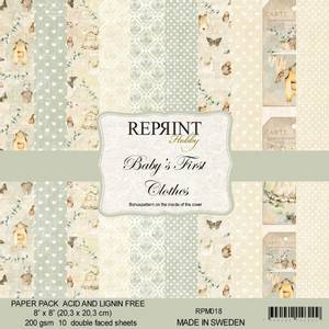 Bilde av Reprint - 8x8 - RPM018 - Baby´s First Clothes Collection pack