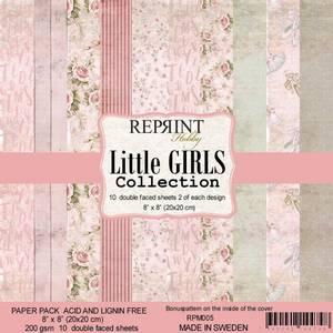 Bilde av Reprint - 8x8 - RPM005 - Little Girls collection pack