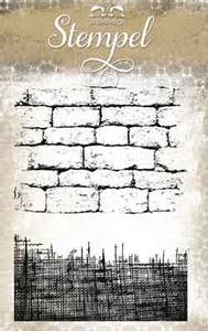 Bilde av Papirdesign - Stempel - PD13778 - Lin og mur
