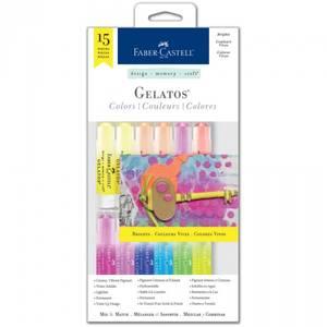 Bilde av Faber-Castell - Gelatos 770169 - Brights Kit