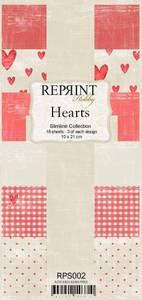 Bilde av Reprint - Slimline Paper Pack - RPS002 - Hearts