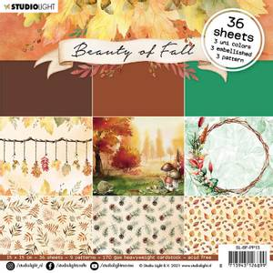 Bilde av Studiolight -   12 - PaperPad 15x15cm - PP13 - Beauty of Fall