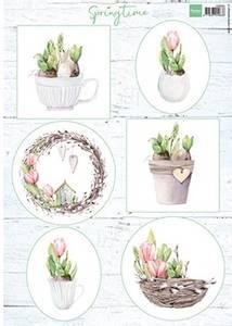 Bilde av Marianne Design - Klippeark VK9565 - Tulips & willow cats