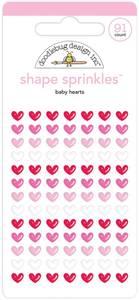 Bilde av Doodlebug - 6151 - Shape Sprinkles - Baby Hearts
