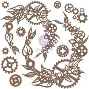 Bilde av Finnabair - 968878 - Decorative Chipboard - Steampunk Wreath