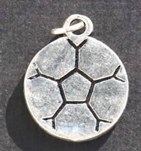 Bilde av Charms - Fotball - Sølv - 6 stk