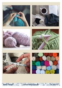 Bilde av Barto Design - Klippeark A4 - 067757 - Knitting