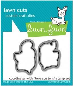 Bilde av Lawn Fawn - LF600 - Dies - Love you tons