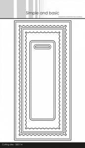 Bilde av Simple and basic - Dies - SBD114 - Slimcard w/ inner scallop