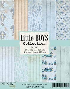 Bilde av Reprint - 6x6 - RPP037 - Little Boys Collection pack