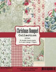 Bilde av Reprint - 6x6 - RPP041 - Christmas Bouquet Collection pack