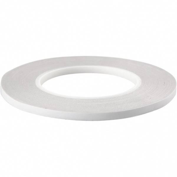 Dobbeltsidig tape - 6 mm x 50 meter - 1 stk rull