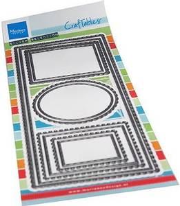 Bilde av Marianne Design - Craftables dies - CR1537 - Slim line frames