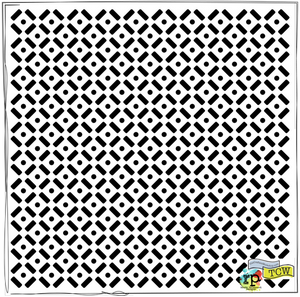 Bilde av The Crafter's Workshop - Template - TCW6X6-397 - Dots & Dashes
