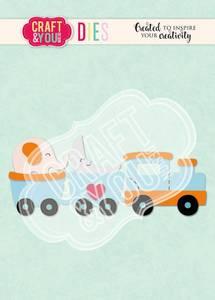 Bilde av Craft & You - Dies - CW110 - Train Baby Toy