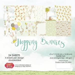 Bilde av Craft & You - HBU15 - Hopping Bunnies - 6x6 Paper Pad