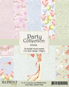 Bilde av Reprint - 6x6 - RPP035 - Party Collection pack