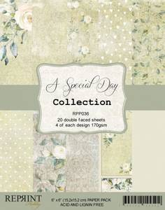 Bilde av Reprint - 6x6 - RPP036 - A Special Day Collection pack