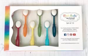 Bilde av Taylored Expressions - Blender Brushes - Rainbow - 10pcs