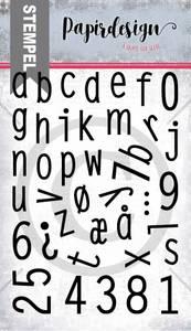 Bilde av Papirdesign - Stempel - PD2000365 - Alfabet 4 små bokstaver+tall