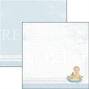 Bilde av Reprint - 12x12 - RP0337 - It´s a boy - Baby in bath tub