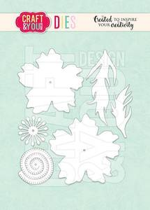 Bilde av Craft & You - Dies - CW137 - Anemone Blossom