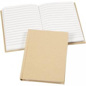 Bilde av Notebook - Kinabok - A6 - 10,5 x 15 cm - natur