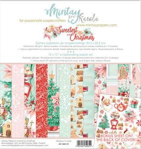 Bilde av Mintay - SWE - 12x12 Paper Set - The Sweetest Christmas