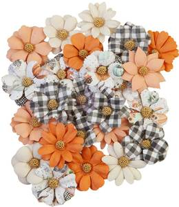 Bilde av Prima - 648374 - Flowers - Pumpkin & Spice - Warm Mittens